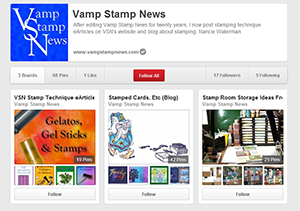 Pinterest VSN Page Capture