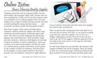Choosing Stamp Supplies article cover