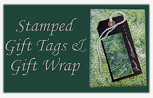 Stamped Gift Tags