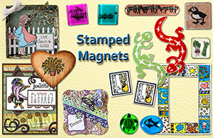 Making Stamped Magnets