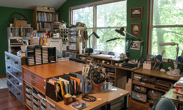 VSN Craft and Stamp Room Reorganization