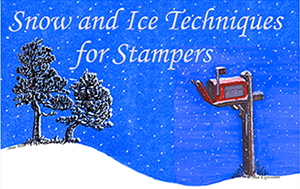 Stamped Snow & Ice Techniques eArticle